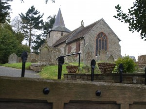 The church of St Mary the Virgin at Gladestry