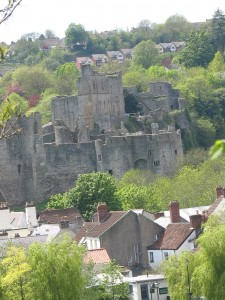 Chepstow Castle from ODP