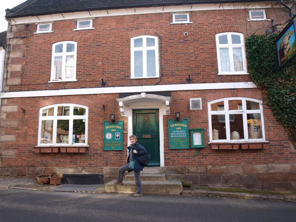 The Bull's Head inn at alton